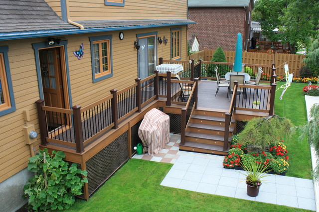 Colorful Outdoor Deck Decorating Ideas: City Of Jeannette
